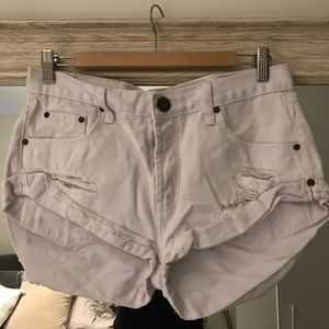 One Teaspoon The Bandits denim shorts